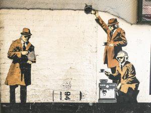 NCSC QCHQ Banksy