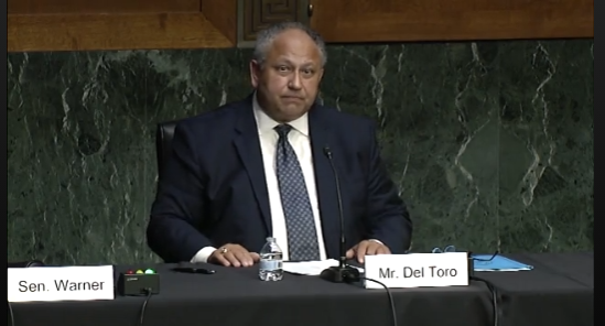 Mr. Carlos Del Toro, Nominee to be Secretary of the Navy, on Cyber at the Senate Armed Services Committee
